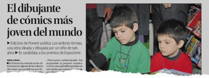 01 de Diciembre de 2013 (Diario Información)