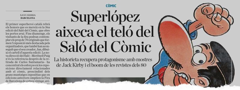 12 de Abril de 2018 (Diario Ara)
